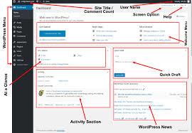 tutorial wordpress blog wordpress dashboard tutorial for beginners certguidance