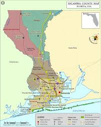 Florida Maps Escambia County Florida Map 28 Images Escambia County Alabama