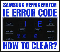 tv blinking red light codes refrigerator error code 1e blinking how to reset