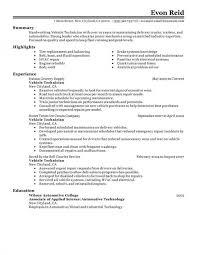 operations manager resume operations manager resume sle automotive technician