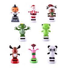 solar power shaking panda frog shake animals toys for