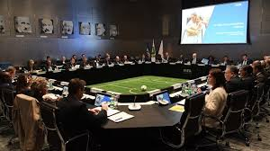 Football Conference Table Fifa Council Discusses Vision For The Future Of Football Fifa Com