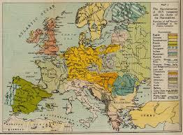 Europe Pre World War 1 Map by