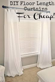 Curtains Cost Low Cost Curtains And Drapes Best 25 Cheap Window Treatments Ideas