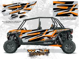 polaris rzr xp4 turbo spectra orange utv door graphics kit wd dkb 010 polaris rzr xp4 spectra orange turbo door kit