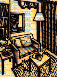 suburban interior sampling the art of howard arkley culture