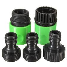 5pcs rubber hose water faucet tap adapter rubber nozzle washing