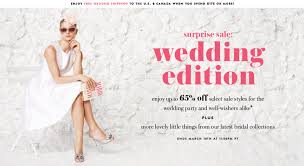 wedding sale shop the kate spade wedding sale j crew sale for a