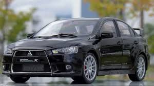 mitsubishi evolution 1 lancer evolution x 1 18 csm youtube