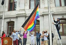 Outside Flag Why Philadelphia Added New Colors To The Lgbt Pride Flag Goodnet