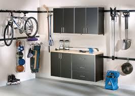 furniture stylish black metal hanging wall garage storage cabinet