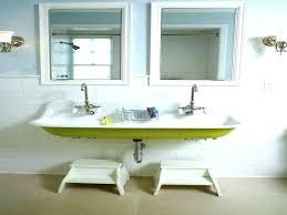 bathroom sinks and faucets ideas bathroom sink with two faucets trough sink bathroom bathroom sink