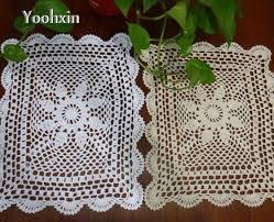 napperon de cuisine diy napperon table napperon tissu dentelle tissu coton crochet
