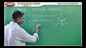 samacheer 9th std maths practical geometry youtube