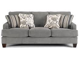 ashley furniture yvette steel stationary sofa w loose seat