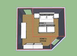 Small Bedroom Floor Plan Ideas Best 25 Bedroom Office Combo Ideas On Pinterest Small Bedroom