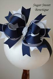white and blue bows navy layered boutique jpg