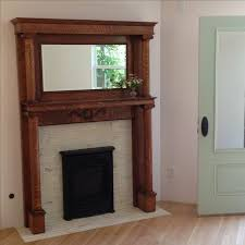 Wood Mantel Shelf Pictures by Best 25 Antique Fireplace Mantels Ideas On Pinterest Brick