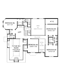 european style house plan 6 beds 4 50 baths 4350 sq ft plan 424 62