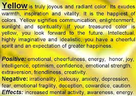 colors meaning yellow meaning yellow color psychology
