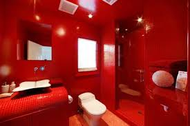 New Orleans Style Bathroom Red Bathroom Great Art Decoration Sweet Red Bathroom Design Tsc
