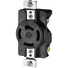 eaton 20 amp 120 208 volt 4 pole 4 wire industrial receptacles
