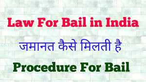 sections in law bail procedure in india जम नत क स म लत ह इस