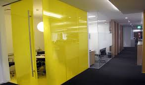 Conference Room Design Directionally Transparent Partitions With Privacy And Views