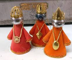 kitschy retro three wise ornaments we your collectibles