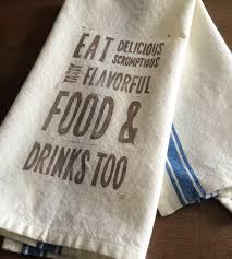 delicious food u0026 drink kitchen towels set of 2 gifts for the