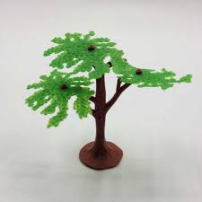 small plastic tree lights decoration