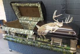 camo casket what would you want on a custom casket standard