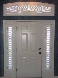 shutters can be made to cover nearly any window shape like this
