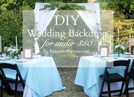 wedding backdrops diy diy wedding backdrop 50