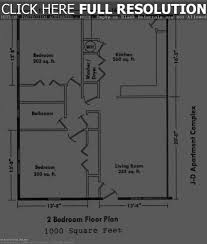 free ranch style house plans with 2 bedrooms floor plan bedr