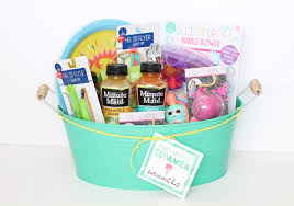 Summer Gift Basket Summer Survival Kit For Moms My Sister U0027s Suitcase Packed With