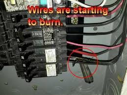 home inspection electric panel wiring 4 point inspeciton youtube