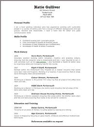 Simple Online Resume by 10 Using Online Resume Template Free Writing Resume Sample
