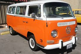 orange volkswagen van 1971 volkswagen bus vanagon kombi or transporter rod city