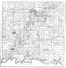 Illinois Township Map by Germantown Township 1892 Plat Map Clinton County Il