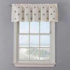 Nautical Valance Curtains Buy Nautical Valance Curtain From Bed Bath Beyond