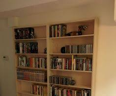 Fine Woodworking Bookcase Plans by Frame And Panel Bookcase Project Plan Print Plan Bookcases