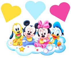 baby disney movable stickers mickey minnie mouse wall stickers baby disney jpg