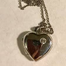 locket necklace with photo images Sterling silver locket necklace poshmark jpg