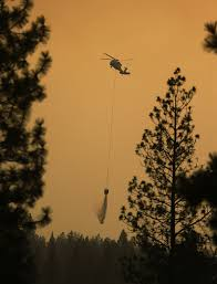 Wildfire Equipment Operators by Fire Danger Forces Closure Of Forestlands North Of Hwy 2 East Of