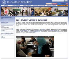 el camino college national institute for learning outcomes assessment