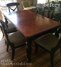 Making A Dining Room Table by Pretty Distressed The Making Of A Farmhouse Table