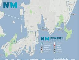 Rhode Island On Map The Newport Marathon And Half Marathon Newport Rhode Island