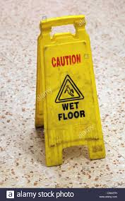Wet Floor Images by It U0027s A Photo Of A Yellow Caution Sign To Indicate A Wet Floor Or