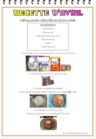 recette cuisine maternelle recette du gâteau poire chocolat au micro onde la maternelle de